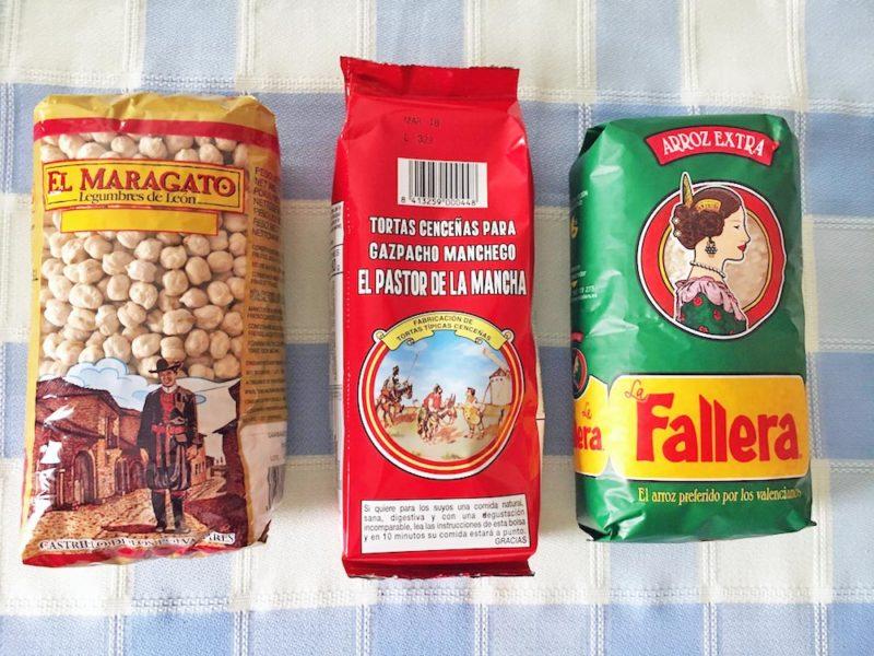 legumbres, el maragato, arroz, la fallera, paella, el pastor de la mancha, tortas cencenas, gazpacho manchego, zufaelle, irene jost
